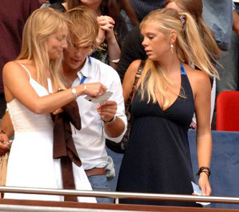 Chelsey Davy or Rugby World Cup tickets?